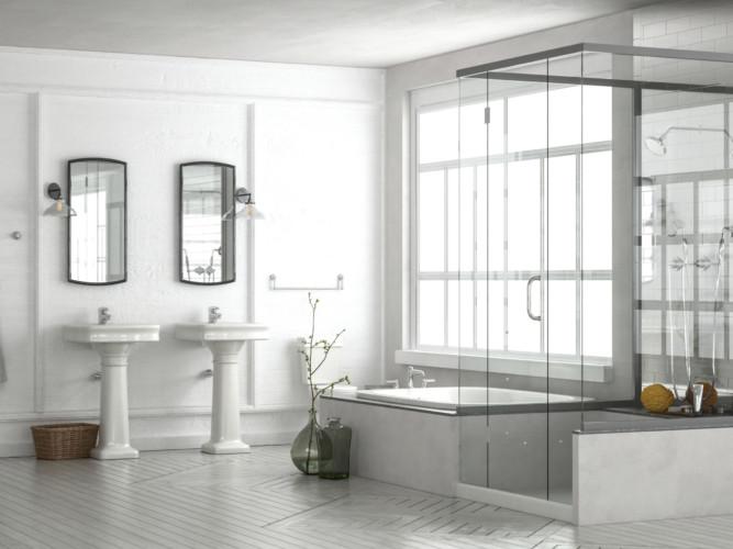 SemiFrameless Shower
